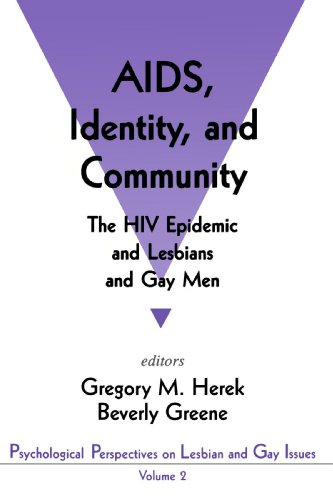 AIDS, Identity, and Community: The HIV Epidemic and Lesbians and Gay Men 9780803953611