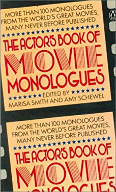 Actor's Book of Movie Monologues 9780808588221