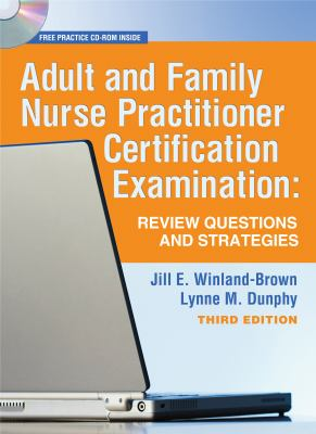 Adult and Family Nurse Practitioner Certification Exam: Review Questions and Strategies [With CDROM] 9780803618190