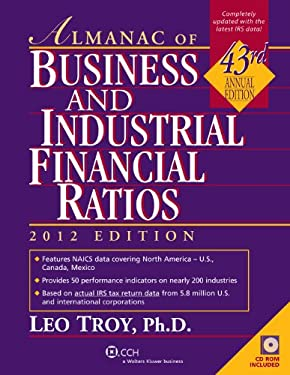 Almanac of Business and Industrial Financial Ratios [With CDROM] 9780808027850