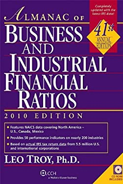 Almanac of Business and Financial Ratios [With CDROM] 9780808022459