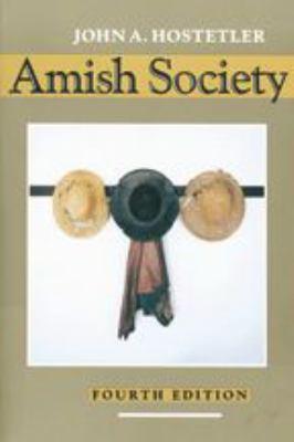 Amish Society 9780801844423