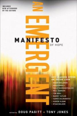 An Emergent Manifesto of Hope 9780801071560