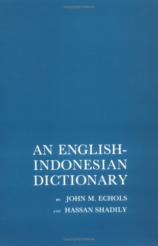 An English-Indonesian Dictionary 9780801498596