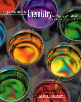 An Introduction to Chemistry for Biology Students 9780805395716