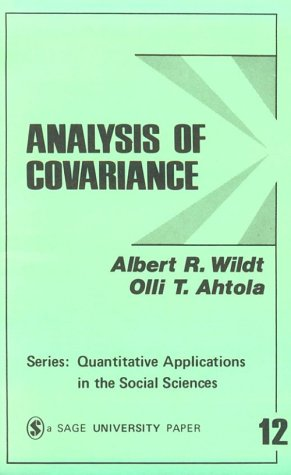 Analysis of Covariance 9780803911642
