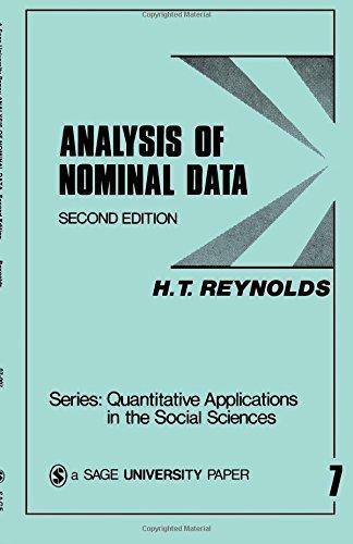 Analysis of Nominal Data 9780803906532