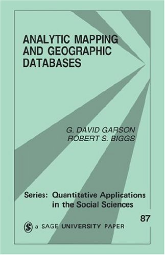 Analytic Mapping and Geographic Databases 9780803947528