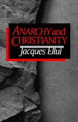 Anarchy and Christianity 9780802804952