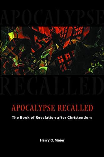 Apocalypse Recalled 9780800634926