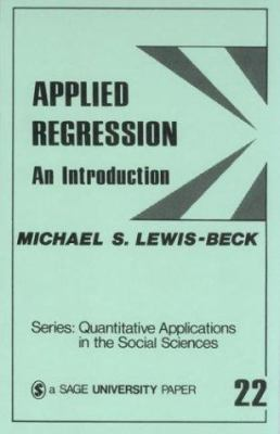 Applied Regression: An Introduction 9780803914940