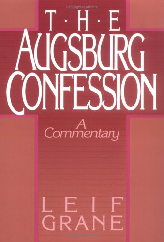 Augsburg Confession the 9780806622521