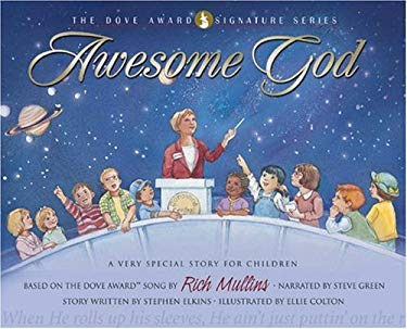 Awesome God: A Very Special Story for Children [With CD] 9780805426649