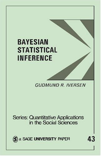 Bayesian Statistical Inference 9780803923287