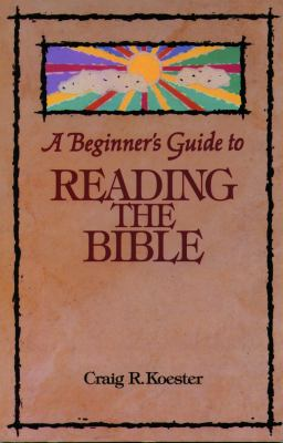Beginners Guide Reading Bible 9780806625706