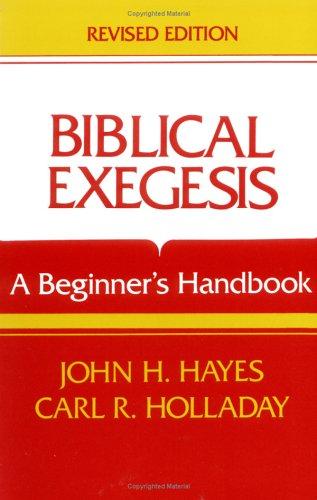 Biblical Exegesis (Revise 9780804200318