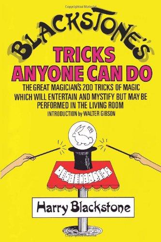 Blackstone's Tricks Anyone Can Do 9780806508627