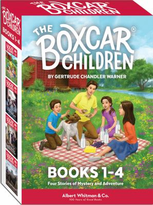 The Boxcar Children Mysteries Boxed Set #1-4 9780807508541