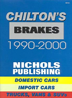 Brake Specifications and Service 1990-2000 9780801993121