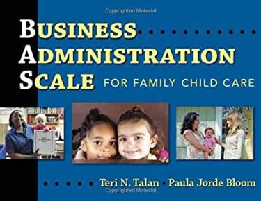 Business Administration Scale for Family Child Care 9780807749777