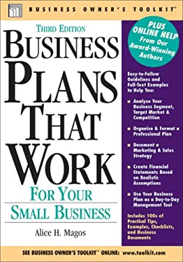 Business Plans That Work: For Your Small Business 9780808017936