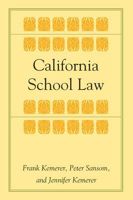 California School Law 9780804748643