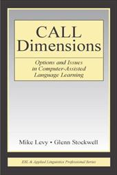 Call Dimensions: Options and Issues in Computer-Assisted Language Learning 3306985