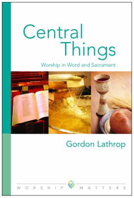 Central Things 9780806651637