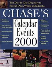 Chase's Calendar of Events 2000 [With CDROM]