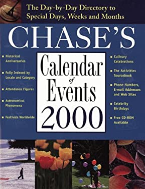 Chase's Calendar of Events 2000 [With CDROM] 9780809227761