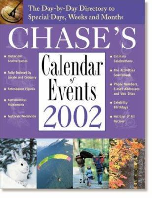 Chase's Calendar of Events: Day by Day Directory to Special Days Weeks & Months 9780809295432