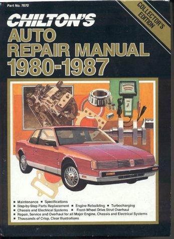 Chilton's Auto Repair Manual, 1980-87 - Perennial Edition 9780801976704