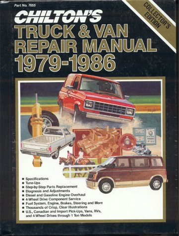 Chilton's Truck and Van Repair Manual, 1979-86 - Perennial Edition 9780801976551