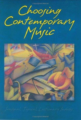 Choosing Contemporary Music 9780806638744
