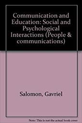Communication and Education: Social and Psychological Interactions 3265470