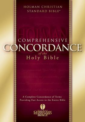 Comprehensive Concordance of the Holy Bible 9780805494594