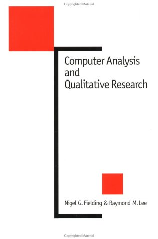 Computer Analysis and Qualitative Research 9780803974838