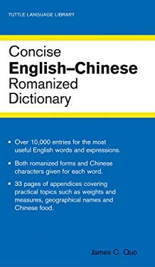 Concise English-Chinese Dictionary 9780804801171