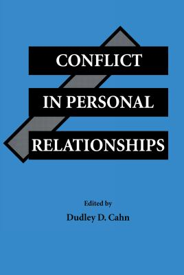 Conflict in Personal Relationships 9780805812770