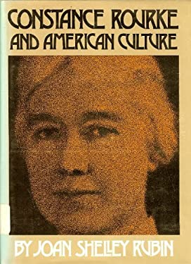 Constance Rourke and American Culture 9780807814024