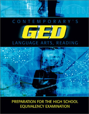 Contemporary's GED: Language Arts, Reading 9780809222315