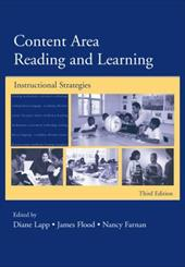 Content Area Reading and Learning: Instructional Strategies 3306600
