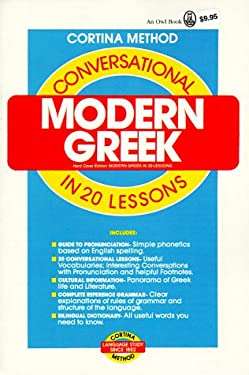 Conversational Modern Greek 9780805015003