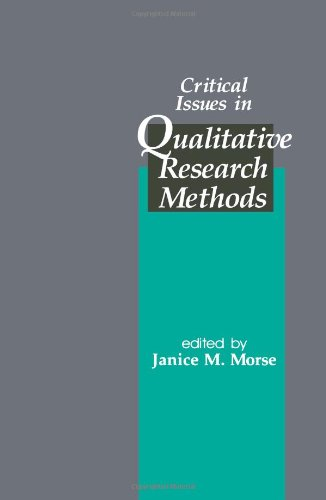 Critical Issues in Qualitative Research Methods 9780803950436