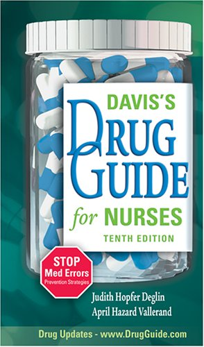 Davis's Drug Guide for Nurses 9780803614635