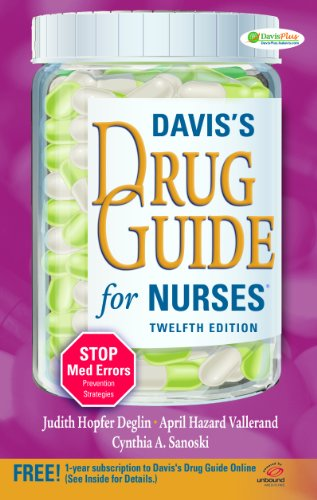 Davis's Drug Guide for Nurses [With Access Code] 9780803623095