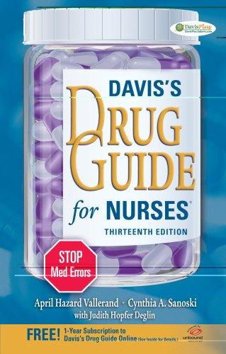 Davis's Drug Guide for Nurses 9780803628342