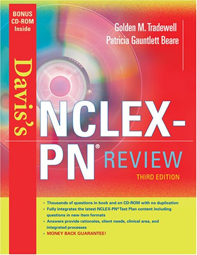 Davis's NCLEX-PN Review [With CDROM] 9780803614598