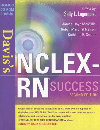 Davis's NCLEX-RN Success [With CDROM] 9780803612426