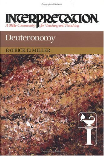 Deuteronomy: Interpretation: A Bible Commentary for Teaching and Preaching 9780804231053